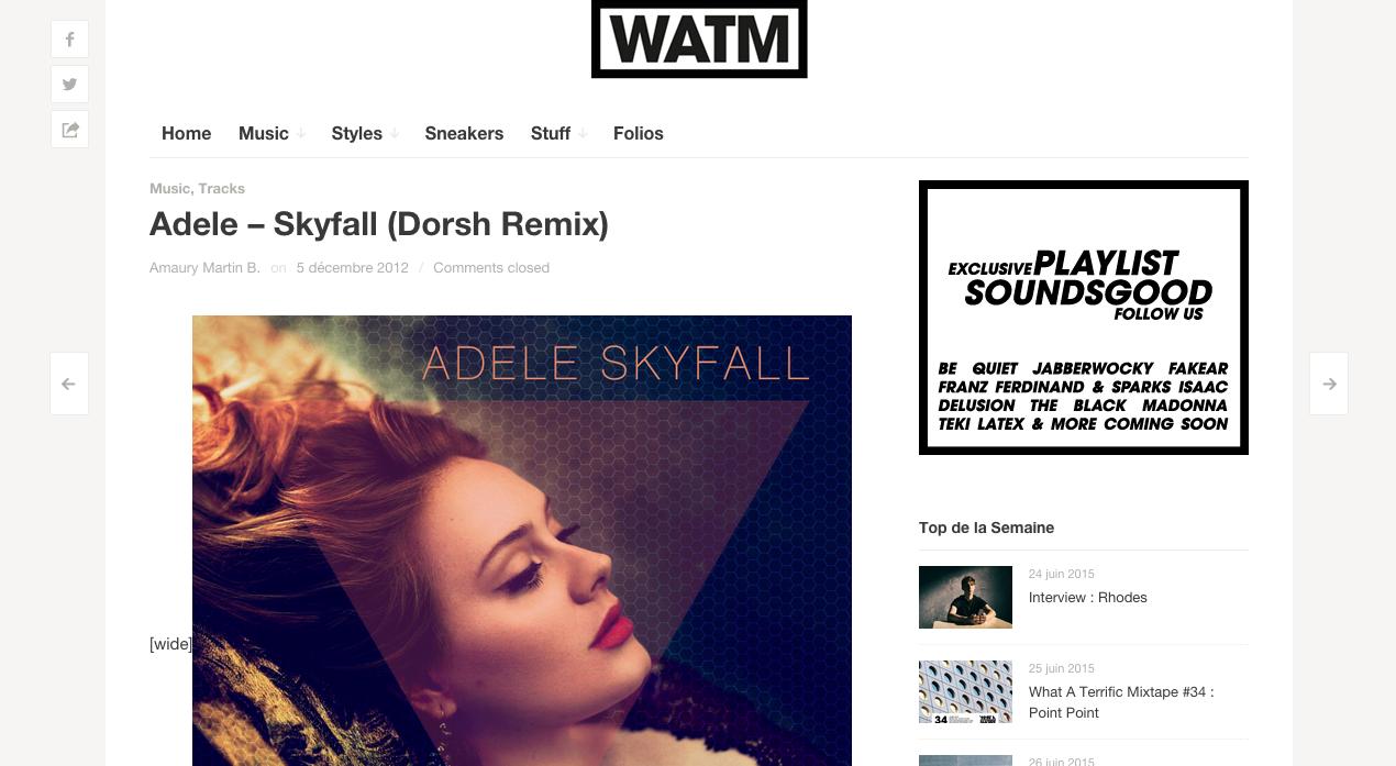 Adele - WATM