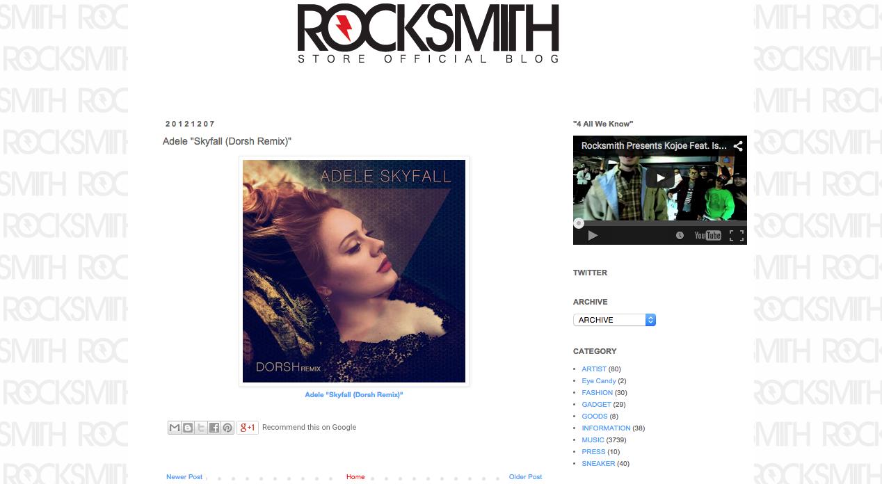 Rocksmith - Adele